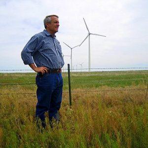 Wind Farms in Wheat Fields